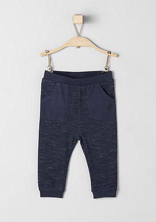 Melierte Jogging Pants