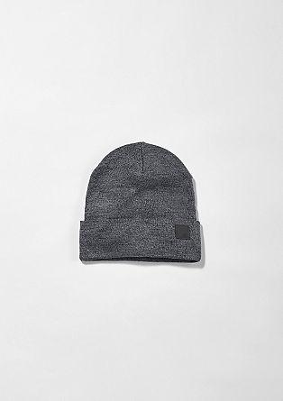 Melierte Mütze