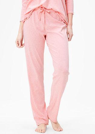 Melierte Pyjamahose