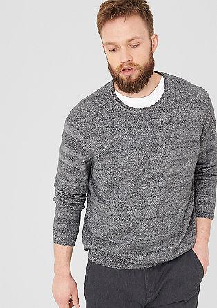 Meliran črtast pulover