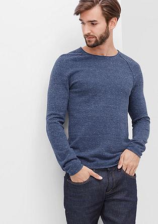 Meliran pleten pulover s cevastim robom