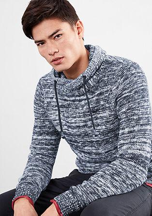 Meliran pulover iz volnene mešanice