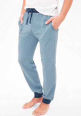 Meliran spodnji del pižame iz džersija