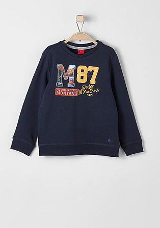 Meliran sweatshirt pulover z vezenino