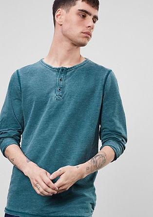 Melirana majica z dolgimi rokavi