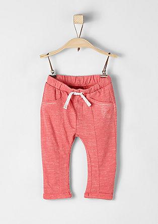 Melirane hlače iz džersija