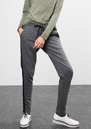 Melírované joggingové kalhoty