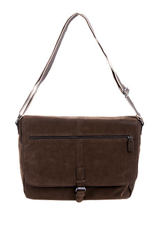 Messenger Bag in Velours-Optik