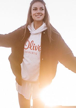 Mikina s kapucí z kolekce s. Oliver AUTHENTIC