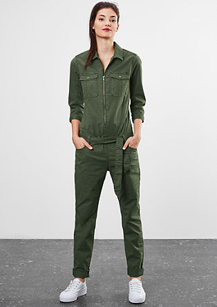 Military-style blazer from s.Oliver