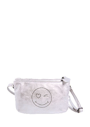 Mini Bag im Metallic-Look