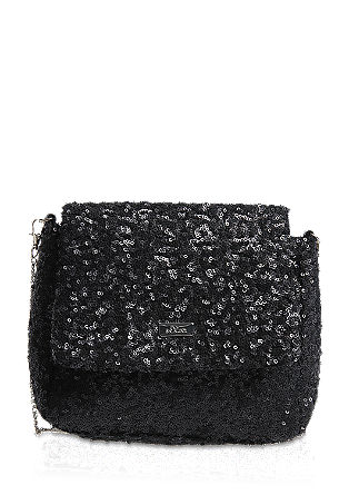 Mini bag with sequins from s.Oliver