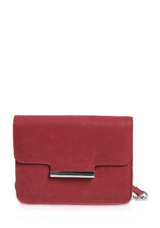 Mini torbica v lesketajočem videzu usnja