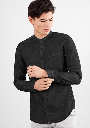 Minimalistisch denim shirt