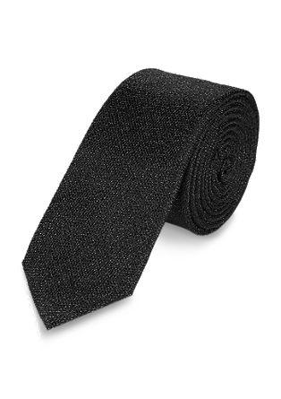 Minimalistisch elegante zijden stropdas