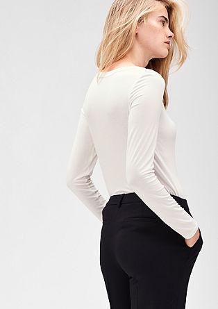 Minimalistisch jersey-shirt