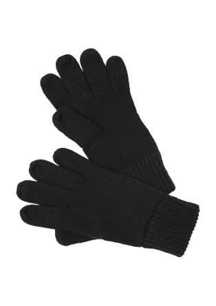 Minimalistische gebreide handschoenen