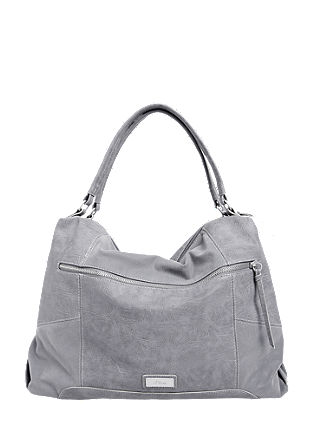Mixed fabric shopper from s.Oliver
