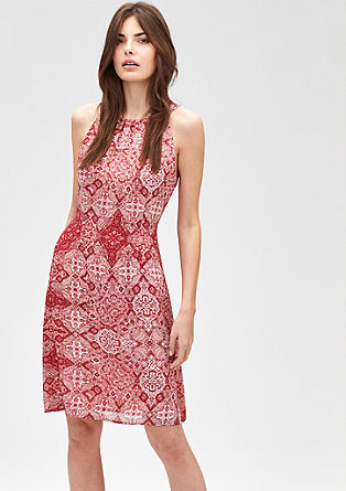 Mixed pattern dress from s.Oliver