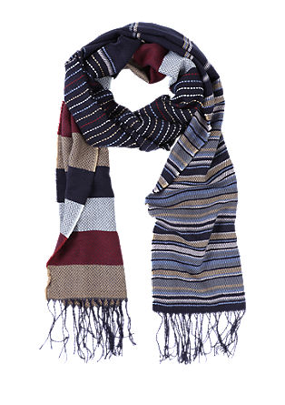 Mixed pattern scarf from s.Oliver