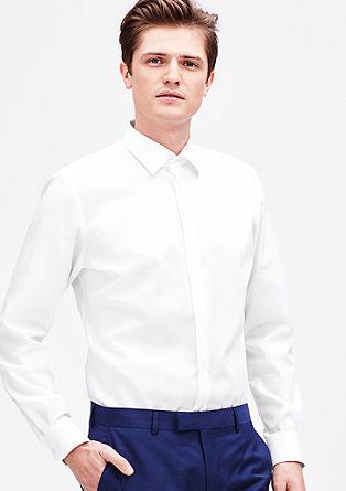 Modern Fit: Bügelfreies Baumwollhemd