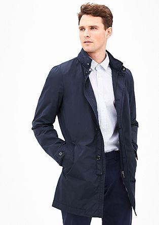 Modern fit: elegante korte mantel