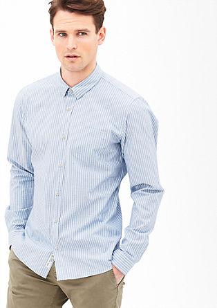Modern fit: gestreept overhemd