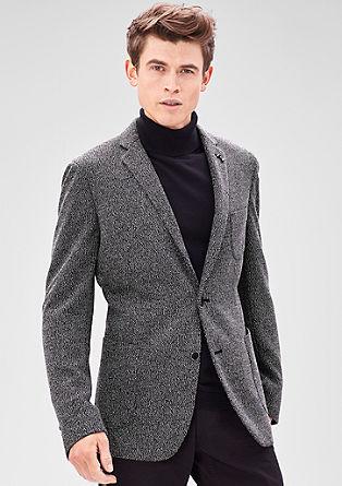 Modern Fit: melange sports jacket from s.Oliver