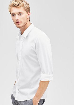 Modern fit: Overhemd met een dobby structuur