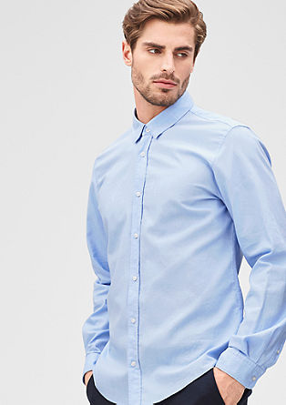 Modern Fit: Oxford-Hemd