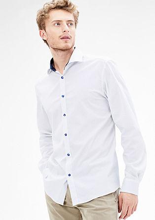 Modern Fit: raztegljiva srajca s kontrasti