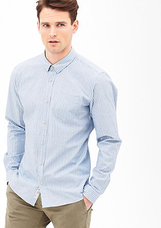 Modern fit: striped shirt from s.Oliver