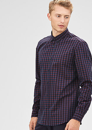 Modern Fit: Vichy check shirt from s.Oliver