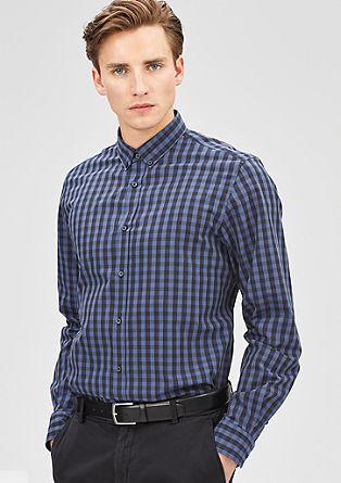 Modern Fit: Vichykaro-Hemd
