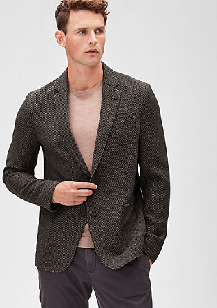 Modern Fit: wool blend jacket from s.Oliver