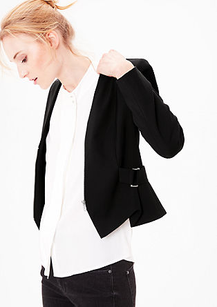 Modern short blazer from s.Oliver