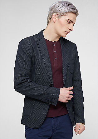 Modern single-breasted jacket from s.Oliver