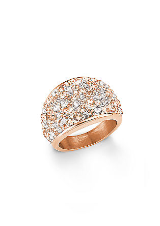 Modni prstan s kristali Swarovski