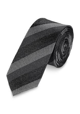 Monochrome zijden stropdas
