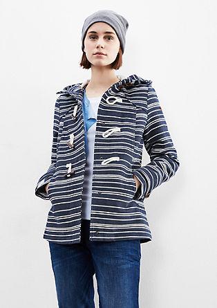 Mornarska jakna v slogu marsovca