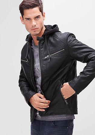 Motoristična jakna s kapuco