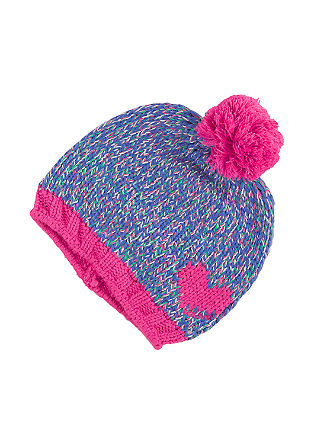 Mottled, lined knitted hat from s.Oliver