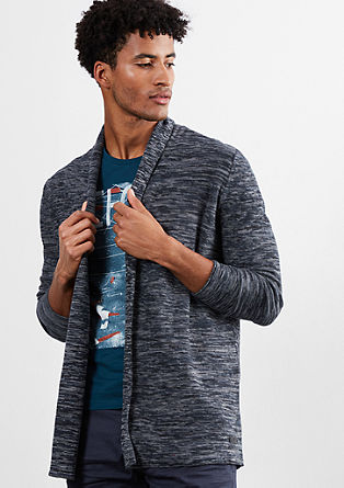 Mottled cardigan in a long design from s.Oliver