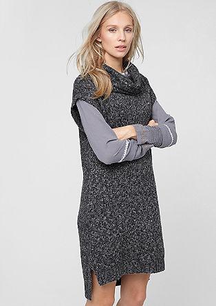 Mottled knit dress from s.Oliver