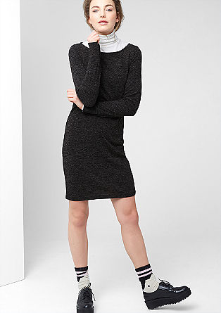 Mottled knit dress from s.Oliver