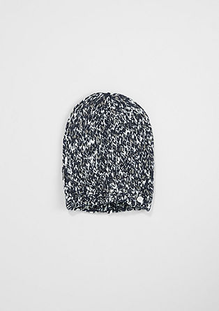 Mottled knit hat from s.Oliver