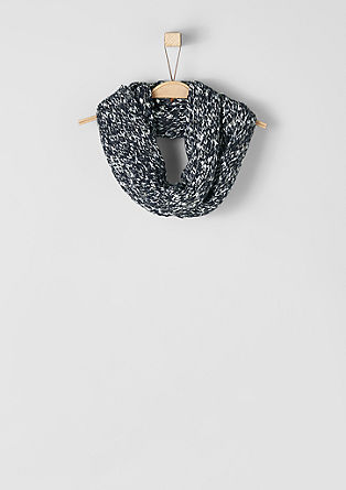Mottled knit snood from s.Oliver