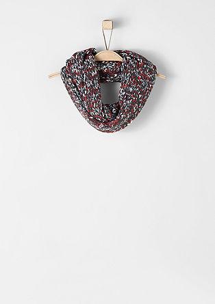 Mottled knit snood from s.Oliver
