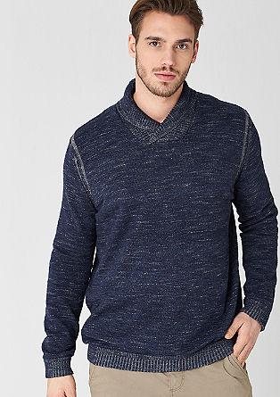 Mottled knitted jumper from s.Oliver