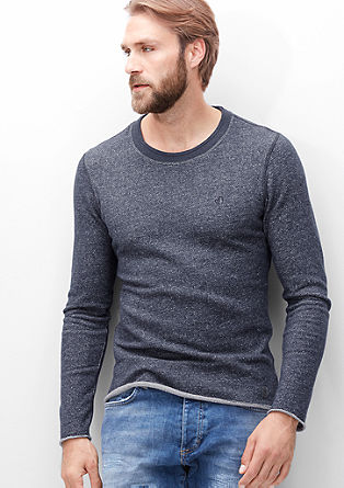 Mottled sweatshirt from s.Oliver